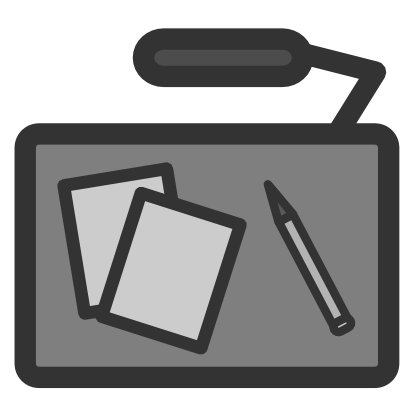 Download free pencil sheet grey icon