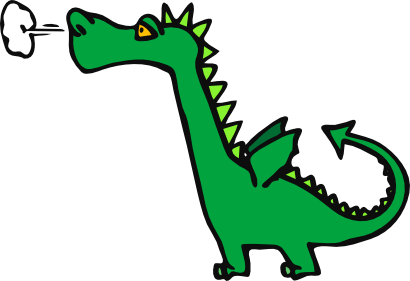 Download free green animal dragon dinosaur icon