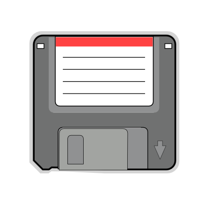 Download free computer record floppy icon