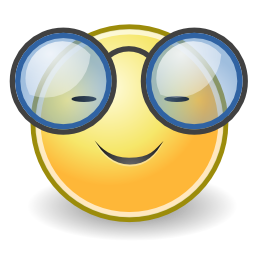 Download free face smiley lunette icon