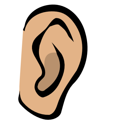 Download free ear body icon