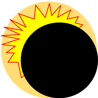 Download free earth round sun star icon