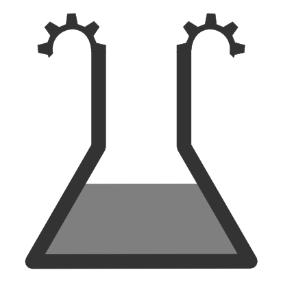 Download free grey science water liquid icon