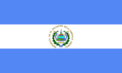 Download free flag salvador country icon
