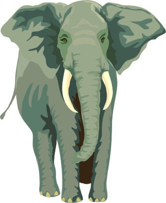 Download free animal elephant icon