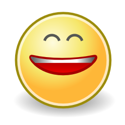 Download free face smiley smile laugh icon