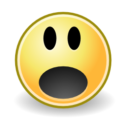 Download free face smiley surprise icon
