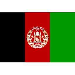 Download free flag afghanistan icon