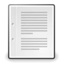 Download free sheet text icon