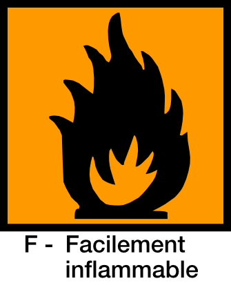 Download free orange fire square flame icon
