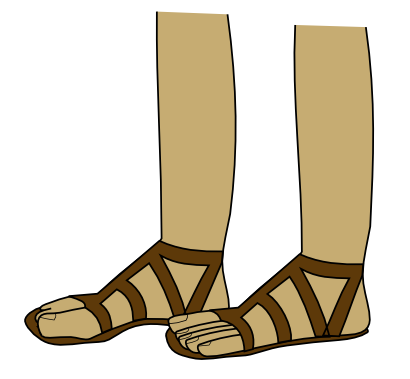 Download free foot shoe person icon