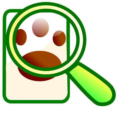 Download free animal magnifying glass icon
