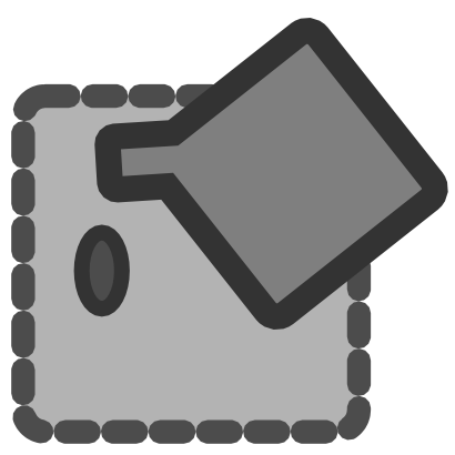 Download free rhombus grey square oval icon