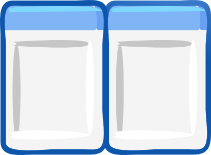 Download free blue rectangle icon