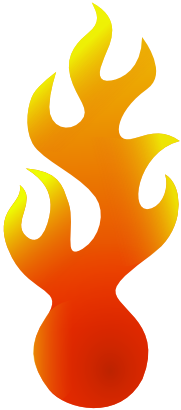 Download free fire flame icon