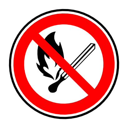 Download free fire prohibited flame icon