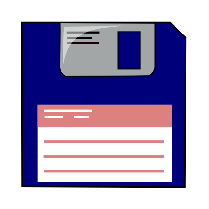 Download free record floppy icon
