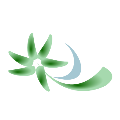 Download free green flower icon