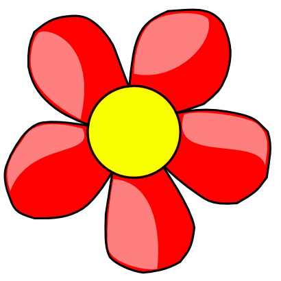 Download free yellow red flower icon