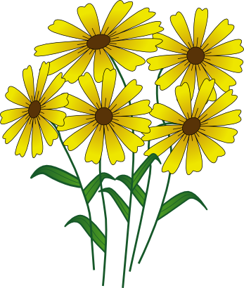 Download free yellow sheet flower icon