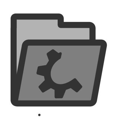 Download free wheel grey folder icon
