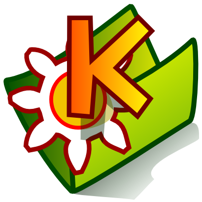 Download free wheel green folder kde icon