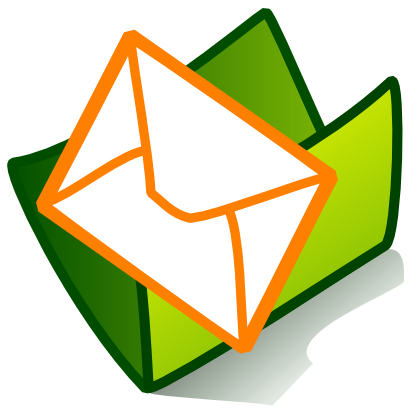Download free green folder courier icon
