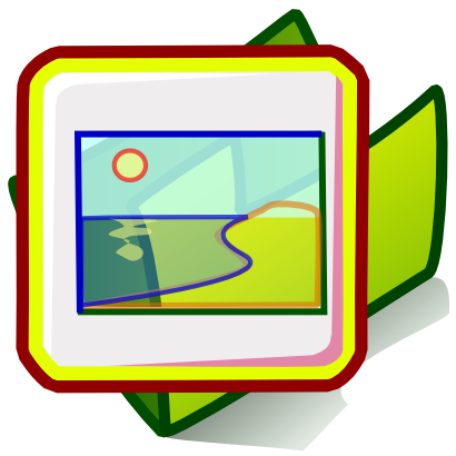 Download free green sun folder sea icon