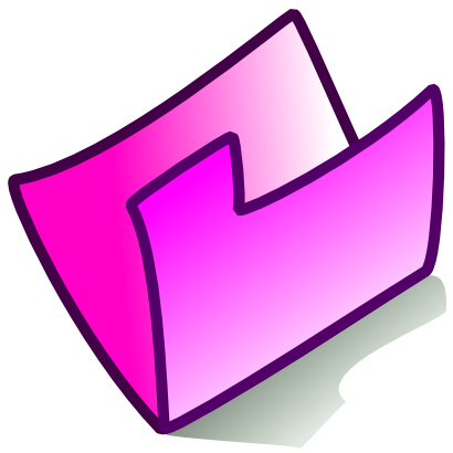 Download free pink folder icon