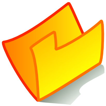 Download free yellow orange folder icon