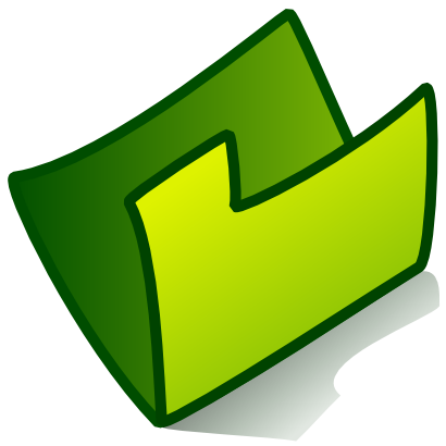 Download free green folder icon