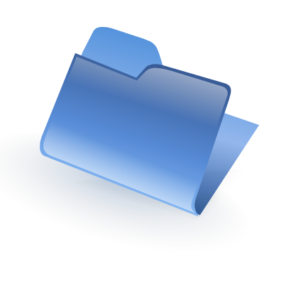 Download free blue folder icon