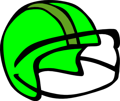 Download free helmet green sport soccer icon