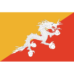 Download free flag bhutan icon