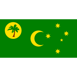 Download free flag island cocos islands icon