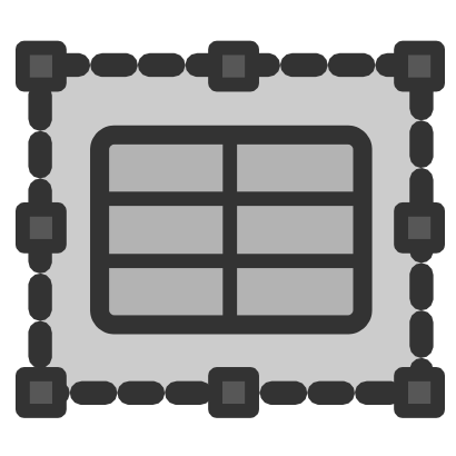 Download free grey rectangle icon