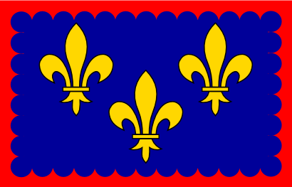 Download free flag france flower icon