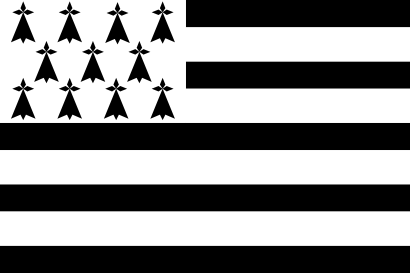 Download free black white flag france icon