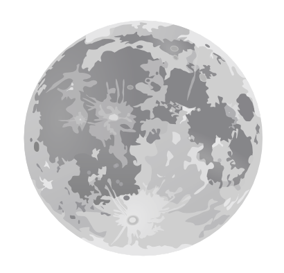 Download free moon planet icon