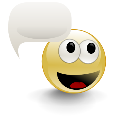 Download free eye face cloud smiley smile speech tongue icon