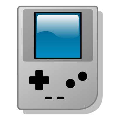 Download free game video screen icon