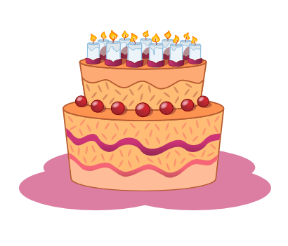 Download free food cake candle birthday icon