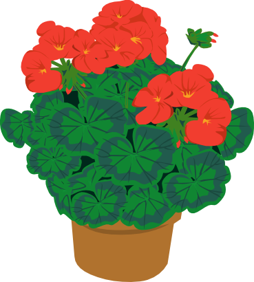 Download free red flower icon