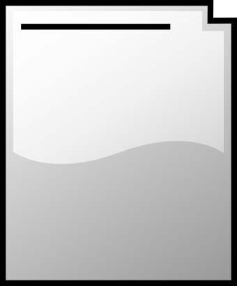 Download free sheet grey paper icon