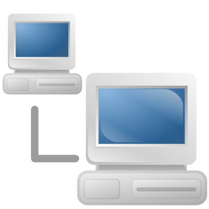 Download free network computer screen icon