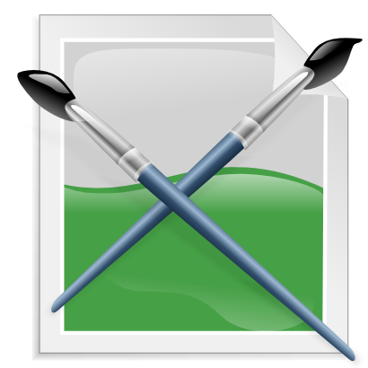 Download free brush green icon