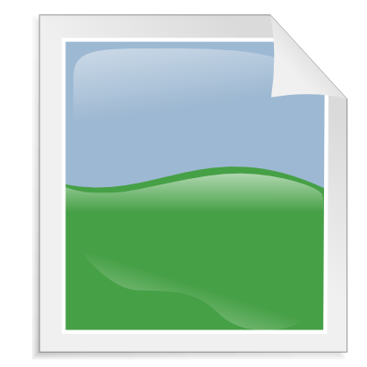 Download free blue sheet green curve icon