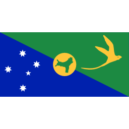 Download free flag island christmas island icon