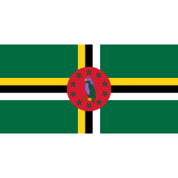 Download free flag dominica icon