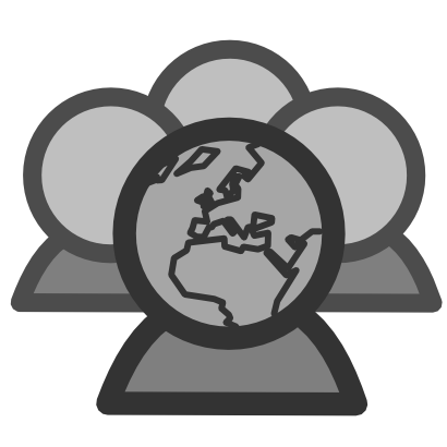 Download free network person europe icon
